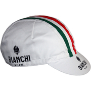 Bianchi Men's Neon Cotton Cap - White
