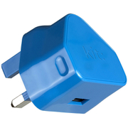 Kit USB 2.1A Eco Mains Charger - Blue