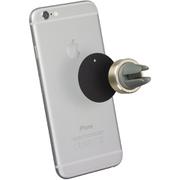 Tec+ Magnetic In-Car Vent Smartphone Holder - Gold