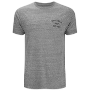 Supra Men's Contender Back Print T-Shirt - Grey Heather