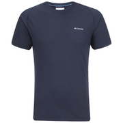 Columbia Men's Mountain Tech III Crew Neck T-Shirt - Collegiate Navy