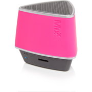 Mixx S1  Bluetooth Wireless Portable Speaker (Inc hands free conference calling) - Neon Pink