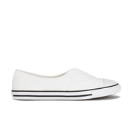 Converse Women's Chuck Taylor All Star Cove Canvas Pumps - White/Black