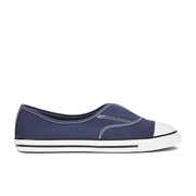 Converse Women's Chuck Taylor All Star Cove Canvas Pumps - Converse Navy/White