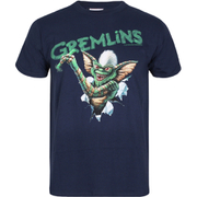 Gremlins Men's Crayon T-Shirt - Navy