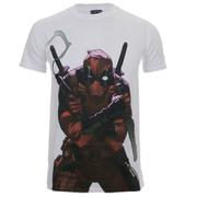 Marvel Deadpool Men's Character T-Shirt - White
