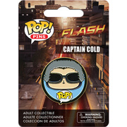 DC Comics The Flash Captain Cold Pop! Pin Badge