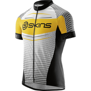 Skins Cycle Men's Promo Short Sleeve Jersey - Black/Yellow/White