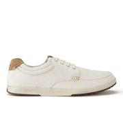 Clarks Men's Norwin Vibe Canvas Boat Shoes - Off White