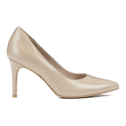 Clarks Women's Dinah Keer Leather Court Shoes - Sand