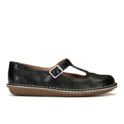 Clarks Women's Tustin Talent Leather Mary Jane Flats - Black