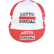 Lotto Soudal Cotton Cap 2016 - Red/White - One Size
