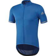 adidas Climachill Short Sleeve Jersey - Shock Blue