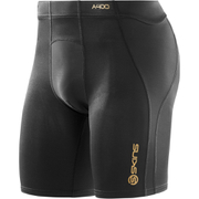 Skins A400 Men's Logo Power Shorts - Black/Gold
