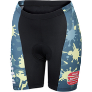Sportful Children's MGF 15 Shorts - Black/Green