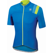 Sportful BodyFit Pro Race Short Sleeve Jersey - Blue/Yellow