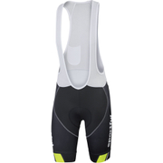 Sportful Gruppetto Pro Bib Shorts - Grey/Black/Yellow