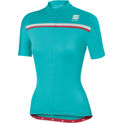 Sportful Allure Women's Short Sleeve Jersey - Blue