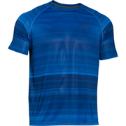 Under Armour Men's Tech Patterned Short Sleeve T-Shirt - Blue