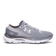 Under Armour Women's SpeedForm Gemini 2 Running Shoes - Grey/White/Silver