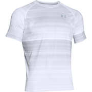 Under Armour Men's Tech Patterned Short Sleeve T-Shirt - White