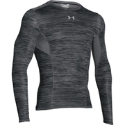 Under Armour Men's HeatGear CoolSwitch Compression Baselayer - Black/Grey