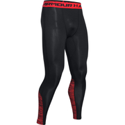 Under Armour Men's HeatGear CoolSwitch Leggings - Black/Red