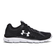 Under Armour Men's Micro G Assert 6 Running Shoes - Black/White