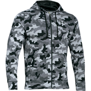 Under Armour Men's Storm Rival Fleece Printed Hoody - Grey