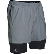 Under Armour Men's Mirage 2 in 1 Training Shorts - Grey