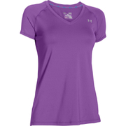Under Armour Women's HeatGear Short Sleeve T-Shirt - Purple