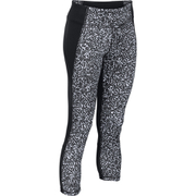 Under Armour Women's Mirror Printed Crop Leggings - Black