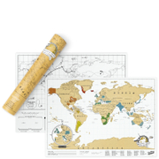 Scratch Map XL Edition
