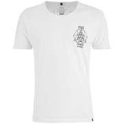 Smith & Jones Men's Maqsurah Back Print T-Shirt - White