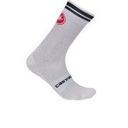 Castelli Free Kit 13 Socks - White/Black