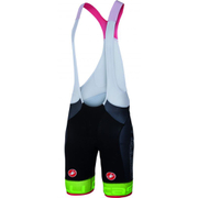 Castelli Free Aero Race Team Bib Shorts - Black/Green