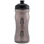 Fabric Cageless Water Bottle (600ml) - Black