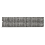 Calvin Klein Acacia Textured Fitted Sheet - Grey
