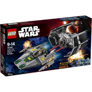 LEGO Star Wars: Darth Vaders TIE Advanced tegen de A-Wing Starfighter (75150)