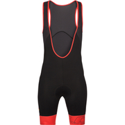 Look Pulse Bib Shorts - Black/Red