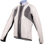Santini Balthus Lightweight Windproof Jacket - Transparent White
