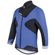 Santini Photon 2.0 Aero Short Sleeve Jersey - Blue