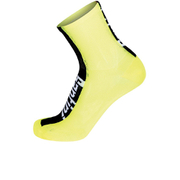 Santini Flag High Profile Coolmax Socks - Yellow