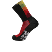 Santini Cinelli Chrome 16 Coolmax Socks - Black/Orange