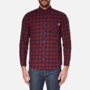 Carhartt Men's Long Sleeve Shawn Shirt - Shawn Check/Grape Rinsed