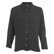ONLY Women's Nova Bat Sleeve Shirt - Black