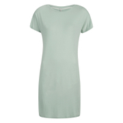 ONLY Women's Lidia T-Shirt Dress- Gray Mist