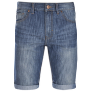 Threadbare Men's Denim Shorts - Mid Wash