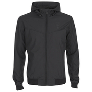 Threadbare Men's Lightweight Toggle Jacket - Black