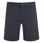 J.Lindeberg Men's Nathan ES Breeze Stretch Shorts - Dark Navy